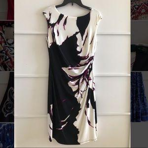 White & black Ralph Lauren Dress